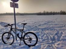 Mountainbike for Schneefeld