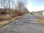 Ein Radweg da, wo früher die Mauer war