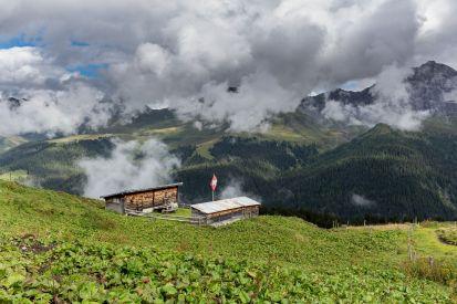 Berghütte bei Arosa