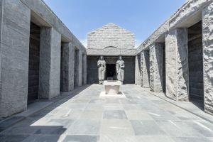 Njegos Mausoleum im Lovcen Nationalpark (Montenegro)