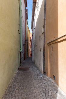Kramarska Street in Cheb