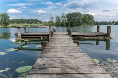 Steg am Hartsee