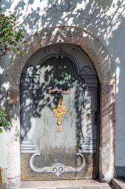 alte Tür in St. Wolfgang am Wolfgangssee