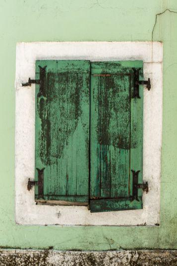 Fenster in Cetinje (Montenegro)