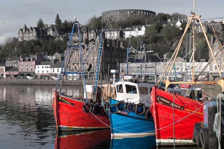 Hafen von Oban (Schottland)
