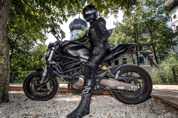 Ducati Monster Fotoshooting with Natalie #5