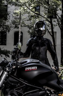 Ducati Monster Fotoshooting with Natalie #3