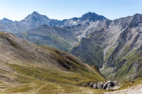 Berge im Samnaun