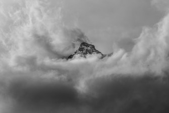 Mountaintop in the Clouds