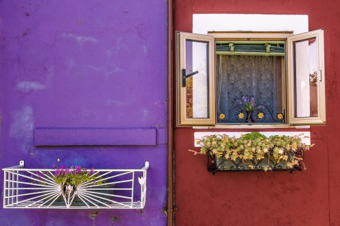 Extreme Colours in Burano (Italy)