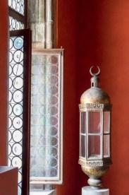 Lampe im Dogenpalast in Venedig