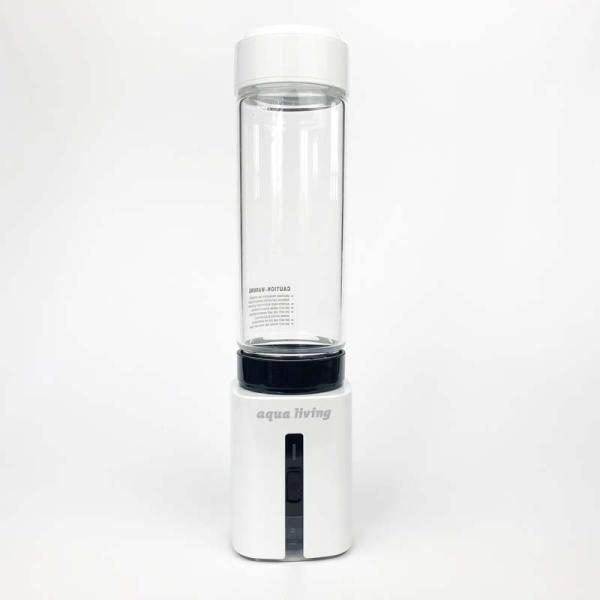 AquaLiving-Wasserstoffbooster-mit-Glaszylinder-Druckdeckel