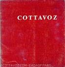 Cottavoz 1967 galerie Kriegel texte Jacques Zeitoun