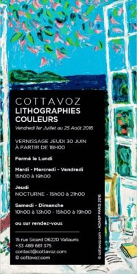 Exhibition of lithographic works