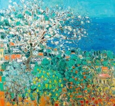 """Cottavoz, """"Le printemps"""""""