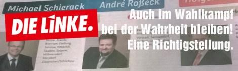 Pressemitteilung: CDU darf Lüge nicht wiederholen