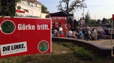 Wahlkampftour in Falkensee