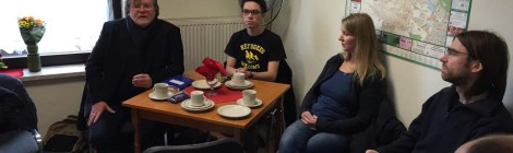 Rotes Frühstück in Falkensee und Neujahrsempfang der LINKEN Elstal