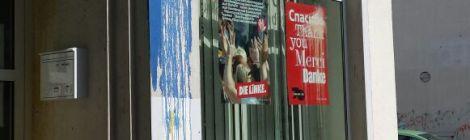 Nachgefragt: Anschläge auf Partei- und Abgeordnetenbüros im 3. Quartal 2015