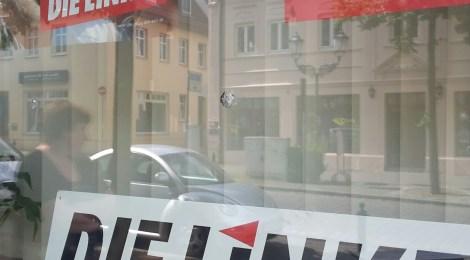 Erneuter Anschlag auf unser Büro - die fünfte Tat innerhalb weniger Wochen
