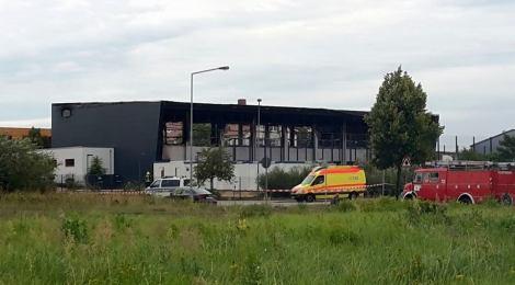 Als Nauen traurige Berühmtheit erlangte... - Vor einem Jahr brannte die als Flüchtlingsunterkunft geplante Turnhalle des OSZ Nauen