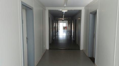 Besuch in der Erstaufnahmeeinrichtung in Eisenhüttenstadt