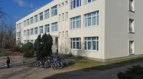 Besuch der Flüchtlingsunterkunft in Stahnsdorf