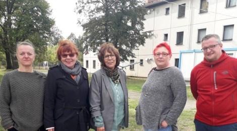 Regionaltag in Frankfurt (Oder): Besuche in der Gemeinschafts- und Obdachlosenunterkunft und bei der Integrationsbeaftragten
