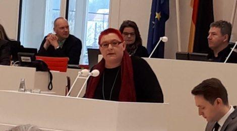 """Rede zu den Anträgen """"Vorangehen für ein menschliches Europa!"""" und """"Sicherer Hafen Brandenburg"""""""