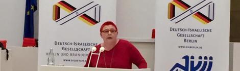 Gemeinsame Veranstaltung der Deutsch-Israelischen Gesellschaft und des Freundeskreises Israel im Brandenburger Landtag