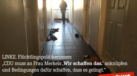 Die CDU-Spitze trifft sich zu einem Werkstattgespräch zur Flüchtlingspolitik? Wir hätten da ein paar Vorschläge.