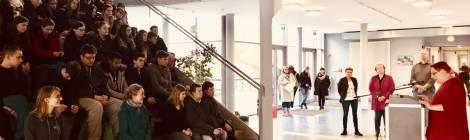 Eröffnung des Aktionstags für Akzeptanz und gegen Homophobie in der Heinz-Sielmann-Oberschule in Elstal