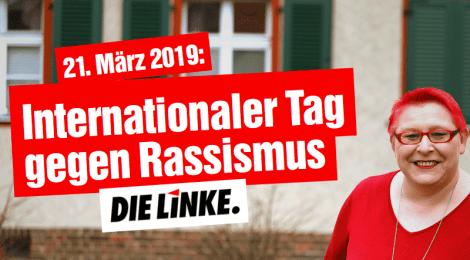 Presseerklärung zum Internationalen Tag gegen Rassismus: Rote Linie Rassismus