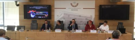 "Konferenz ""LGBTI + History in the baltic states: situation and prospects"" im Seimas in Vilnius"
