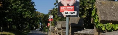 LINKE Plakate für das Havelland