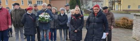 Gedenkveranstaltung anlässlich des Gedenktags der Opfer des Nationalsozialismus in Premnitz