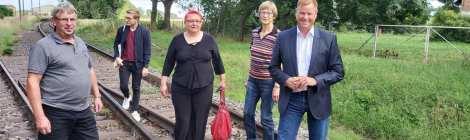 Sommer, Sonne, Sommertour... Förderbescheide in Elstal, Brauereimuseum Dessow und Besuche in Wusterhausen