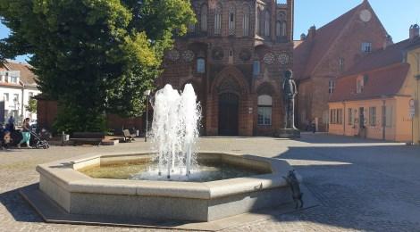 Sommer, Sonne, Sommertour... Besuche u.a. beim Oberbürgermeister der Stadt Brandenburg und Freilichtkino in Friesack