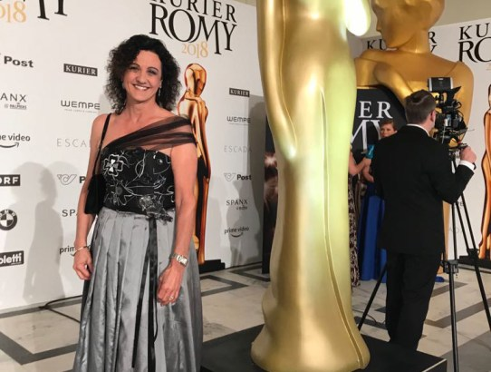 Haute Couture am RED CARPET bei der ROMY GALA 2018