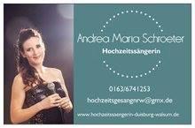 Andrea Maria Schroeter Hochzeitsängerin NRW