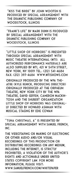 back of brochure panel