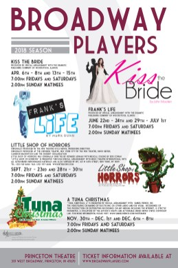 Broadway Players 2018 season poster