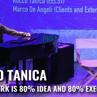 """Great work is 80% idea and 80% execution"" con Rocco Tanica – IF! Italians Festival 2016 mi piacque su YouTube"