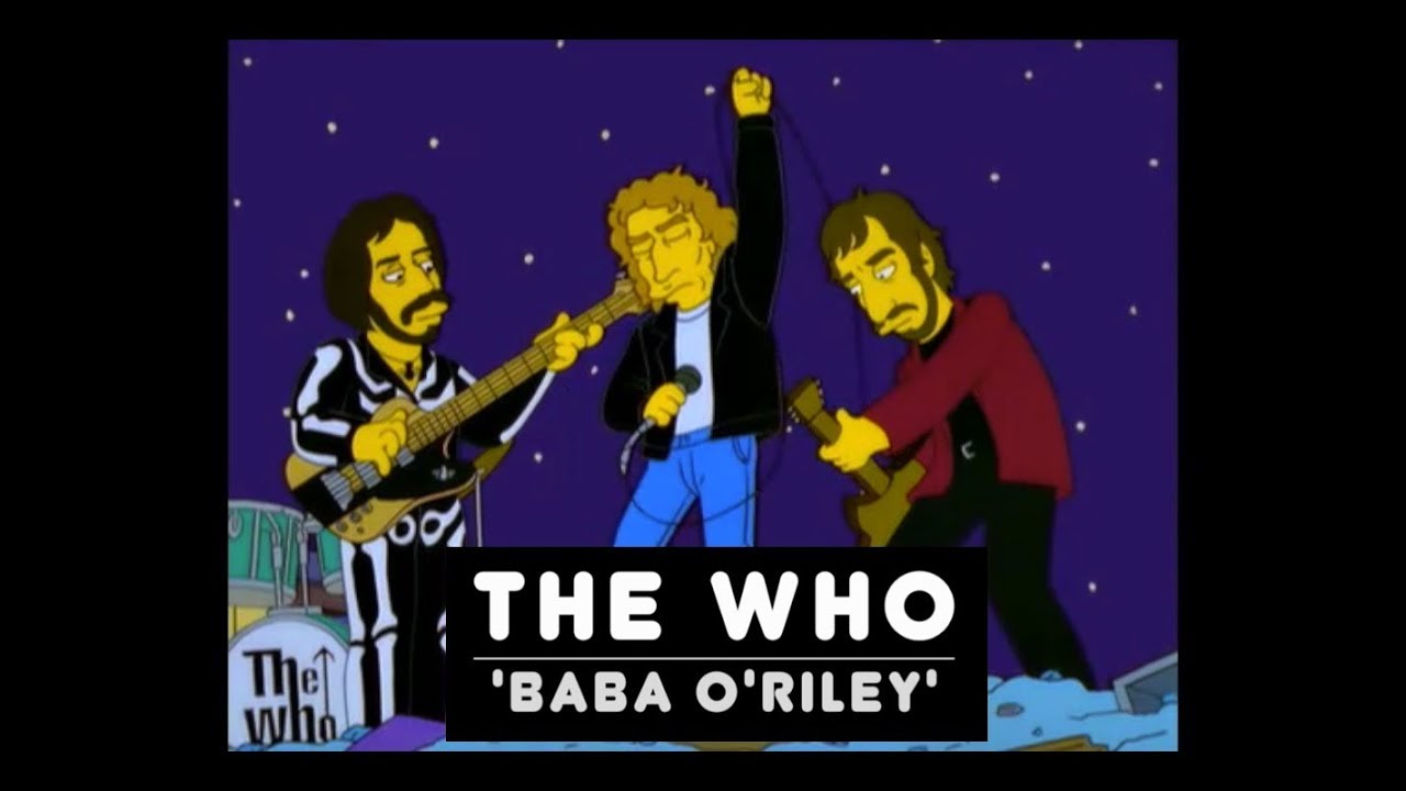 The Simpsons vs The Who – Baba O'Riley (YouTube)