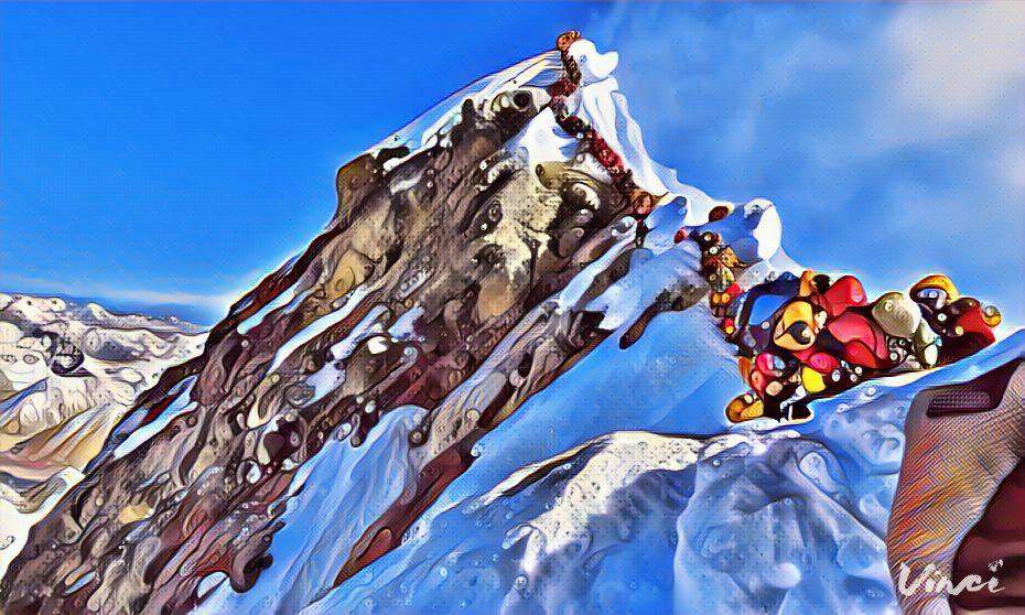 Tutti in coda sull'Everest (tre morti questa settimana)