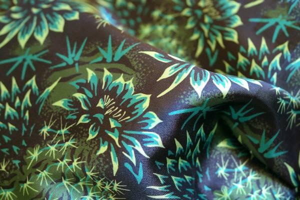 Cactus Floral Fabric - Andrea Muller Design Portfolio