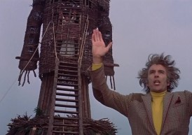 Christopher Lee has a bad hair day...