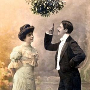Mistletoe-photo-vintage