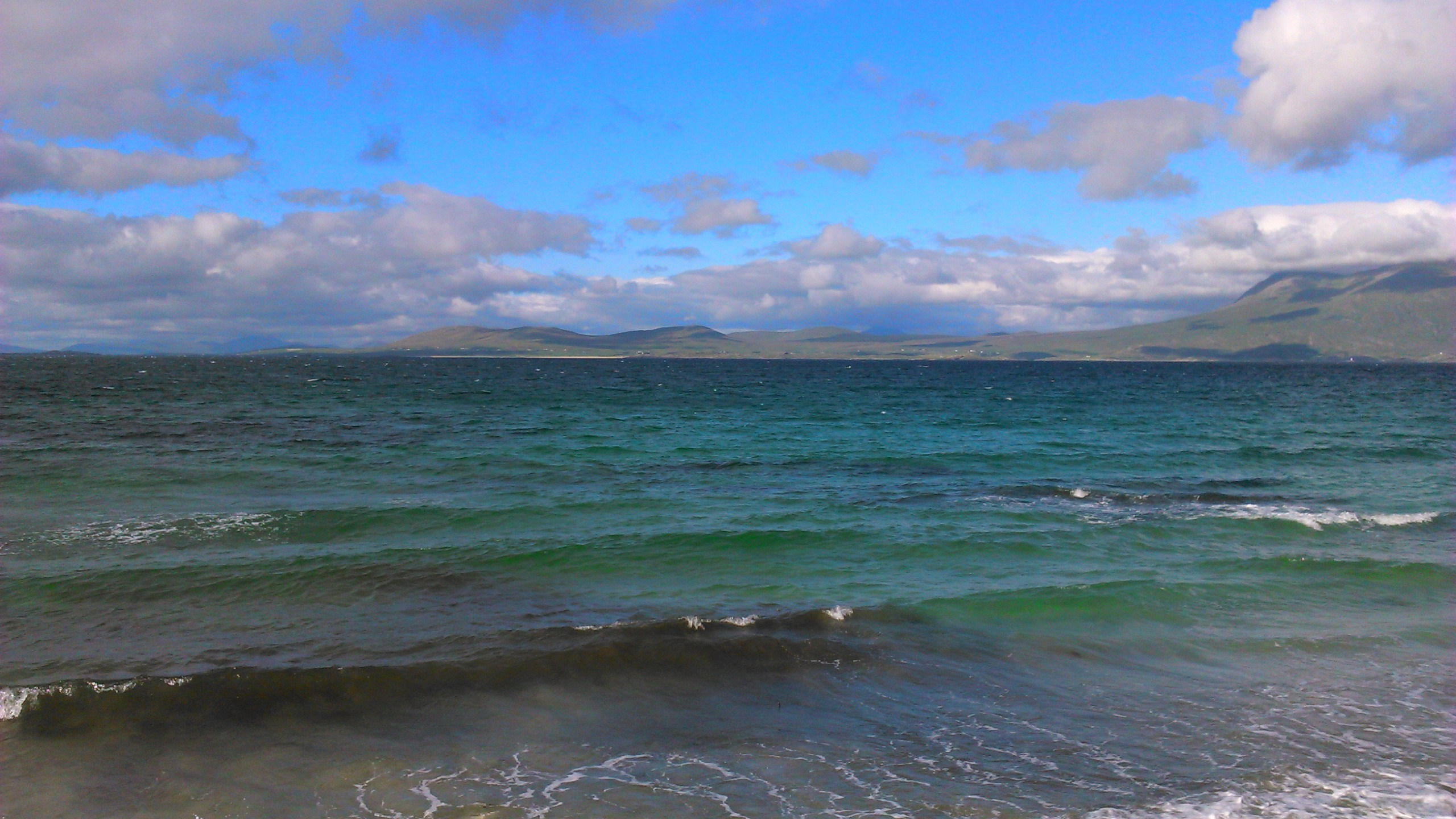 Glassilaun Beach on 5th of July 2016 by Andrea Connolly