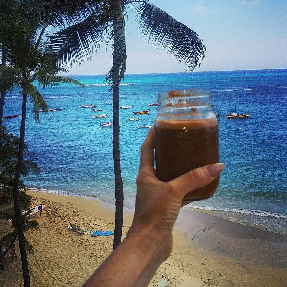 Cheers to increased health and vitality Aloha style!